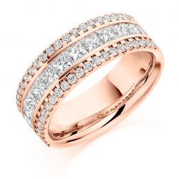 1.80ct eternity ring rose gold