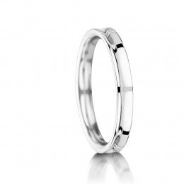 Platinum wedding ring WBLP05