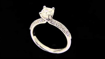 """Amelia"" – Cushion Shape Diamond Engagement RIng."