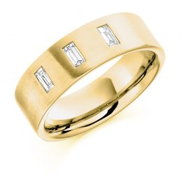 .30ct gents wedding ring yellow gold