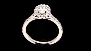 """Harriot Oval"" – Oval SHape Diamond Engagement RIng"