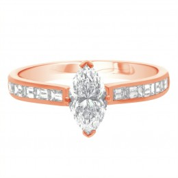 Ava DS 1(Rose)engagement ring