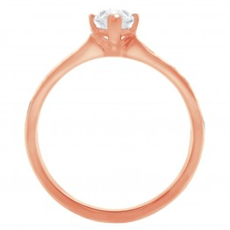 Ava DS 2(Rose) engagement ring