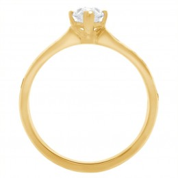 Ava DS 2(Yellow)engagement ring