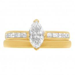 Ava DS 4(Yellow) engagement ring