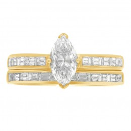 Ava DS 5(Yellow)engagement ring