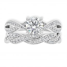 Twisted Band Engagement Ring (betsey 2)