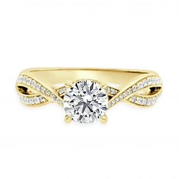Betsey-Engagement-Rings-Yellow-gold-front-view