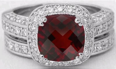 The Birthstone For January Is A Garnet