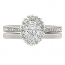 Diamond Cluster Engagement Ring 4 (Bridget ds)