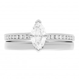 Chloe (marquise) 4 engagement ring