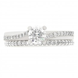Deborah round 5 engagement ring