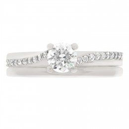 Deborah round 4 engagement ring