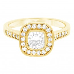 Elle 1(Yellow) engagement ring