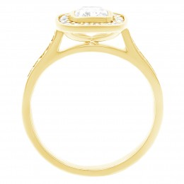 Elle 2(Yellow) engagement ring