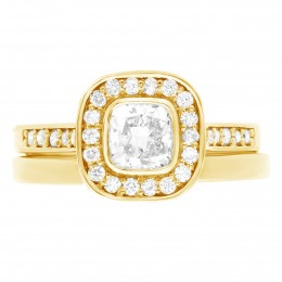 Elle 4(Yellow) engagement ring