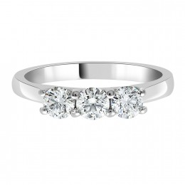 Erin 1 3 stone engagement ring