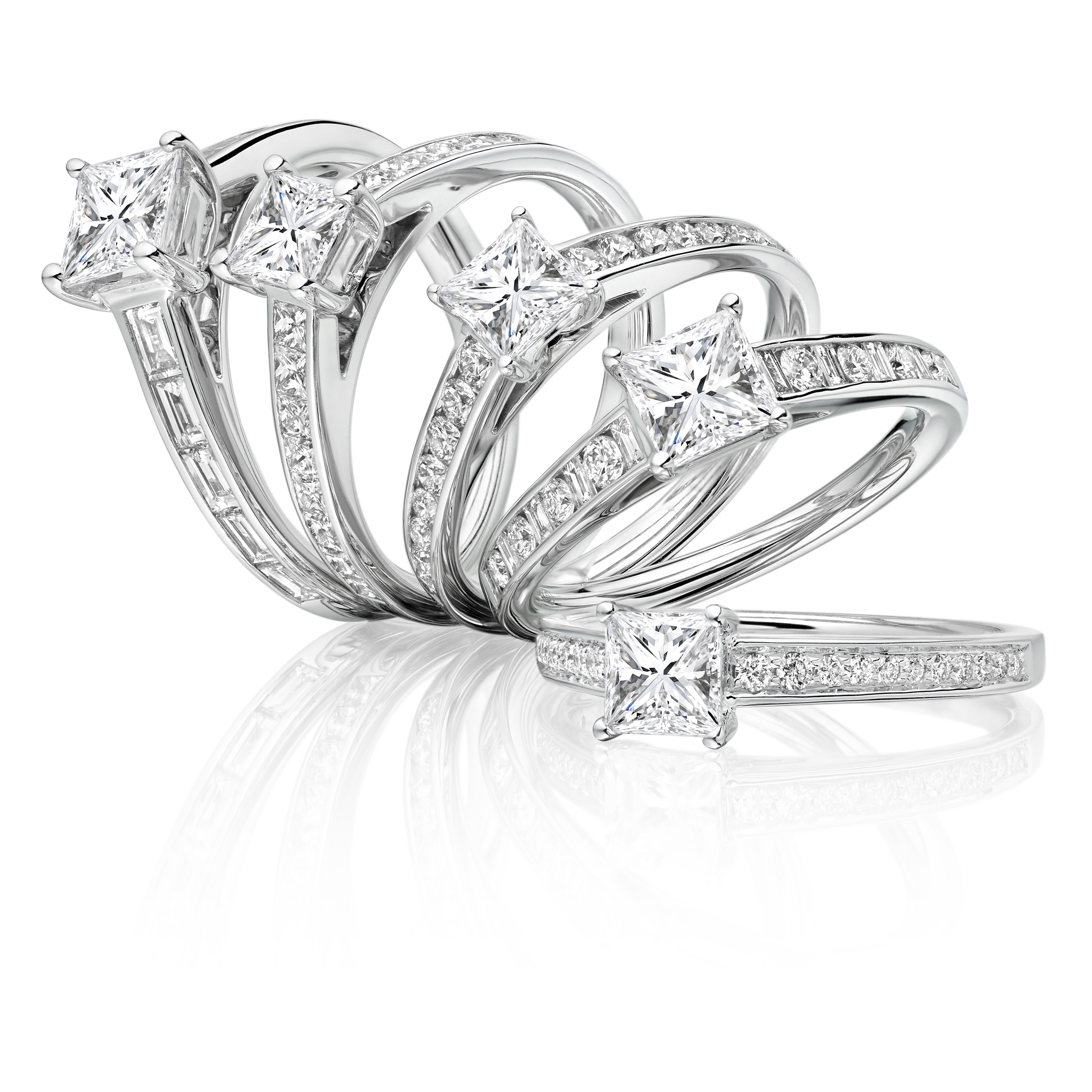 Fancy Shape Diamond Engagement Rings.