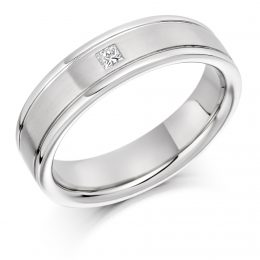 .7ct Gents Diamond Wedding Ring