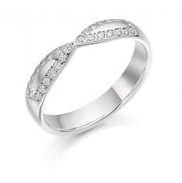 Criss Cross Wedding Ring (aba)