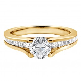 Gina 1(Yellow) engagement ring