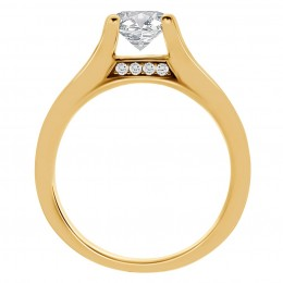 Gina 2(Yellow) engagement ring
