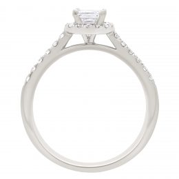 Asscher Diamond Ring - Harriot 2
