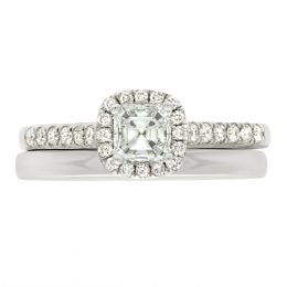 Asscher Diamond Ring - Harriot 4