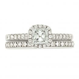 Asscher Diamond Ring - Harriot 5