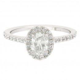 Harriot Oval 1 engagement ring
