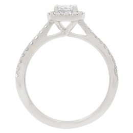 Harriot Oval 2 engagement ring