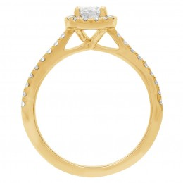 Harriot Oval 2(Yellow) engagement ring