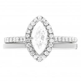 Harriot (marquise)4 engagement ring