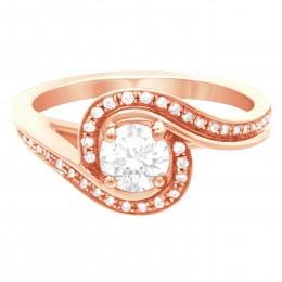 Heidi 1 rose gold engagement ring dublin
