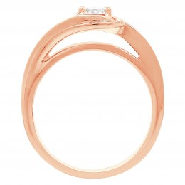 Heidi 2 rose gold engagement ring dublin
