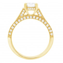 India 2(yellow) engagement ring