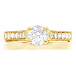 India 4(yellow) engagement ring