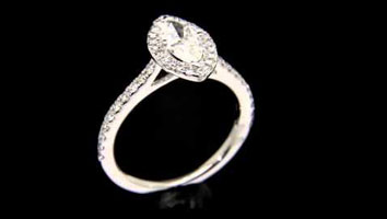 """Harriot Marquise"" – Engagement Ring by Loyes Diamonds Dublin"