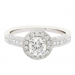 Antique engagement ring - Juliet