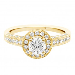 Antique engagement ring - Juliet Yellow gold 1
