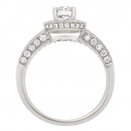 Antique engagement ring - Juliet 2