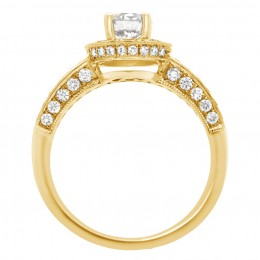 Antique engagement ring - Juliet Yellow gold 2