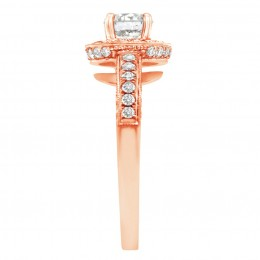 Antique engagement ring - Juliet rose gold 3