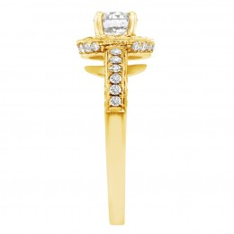 Antique engagement ring - Juliet Yellow gold 3