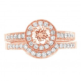 Antique engagement ring - Juliet rose gold 4