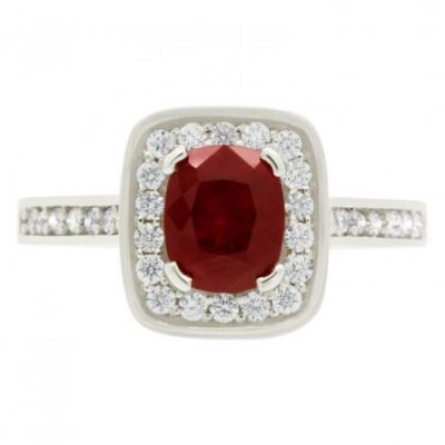 July Birthstone Ruby.