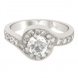 Kimberley 1(White) engagement ring