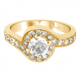 Kimberley 1(Yellow)engagement ring