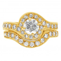 Kimbeley (yellow)engagement ring