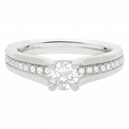 Love Heart Diamond Ring